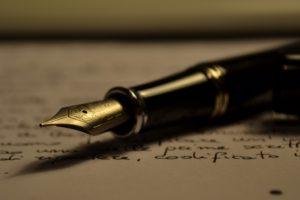 Agile article writing fountain pen